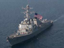 Barco de la Armada de Estados Unidos