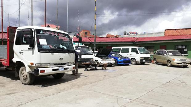 Diprove recupera 7 vehículos en una semana y media