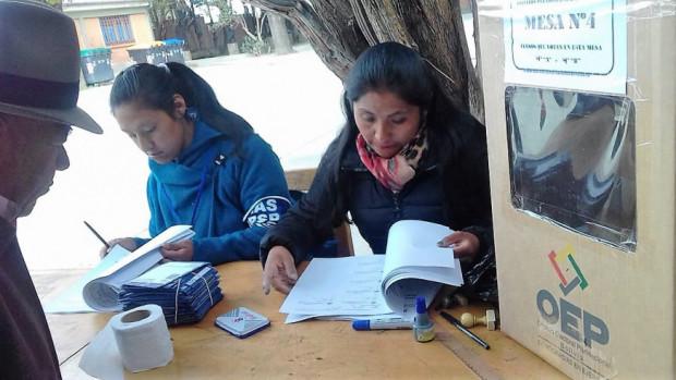Bolivia vive por primera vez jornada de Primarias