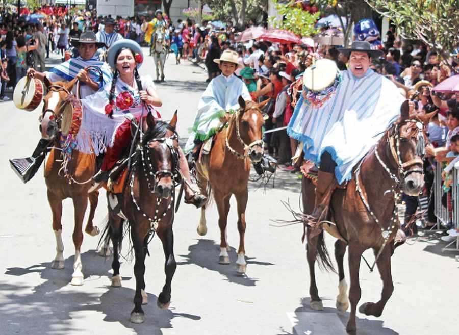 La entrada de más de 50 jinetes darán inicio al Carnaval Chapaco 2019
