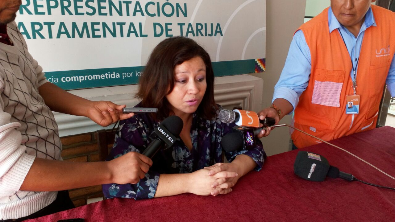 Defensoría del Pueblo en Tarija muestra su apoyo a Tezanos y confía que
