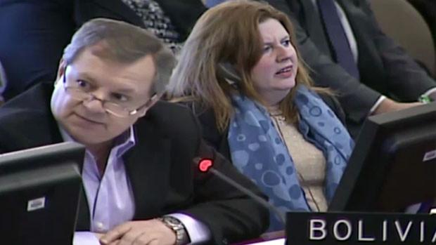 """""""Gringo"""" Gonzales en la OEA rechazó resolución contra Nicolás Maduro"""