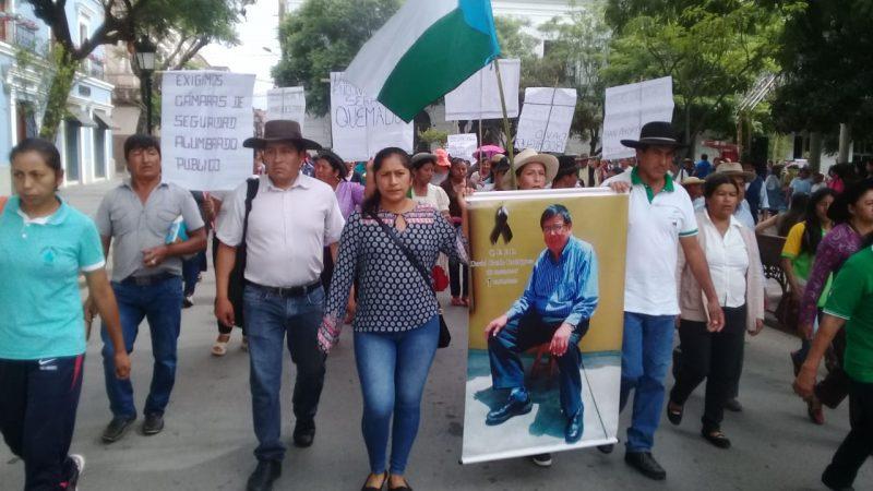 Vecinos de San Andres marchan y exigen seguridad ciudadana tras un asesinato