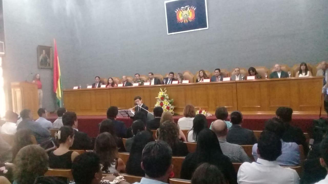Tribunal Departamental de Justicia de Tarija inició año judicial