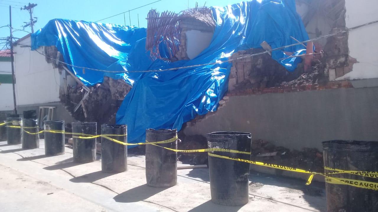 Iniciarán notificaciones a viviendas antiguas que presenten daños estructurales en Tarija