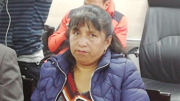 Envían a la cárcel a la vocal del TSE elegida por Evo Morales