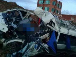 Cinco muertos por accidente en la carretera La Paz-Copacabana