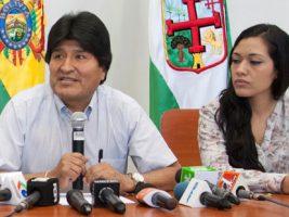 Senadora por el MAS y el presidente de Bolivia