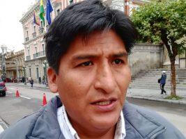 Ejecutivo de la Federación de Comunidades Interculturales de La Paz