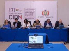 La CIDH sesiona en Sucre