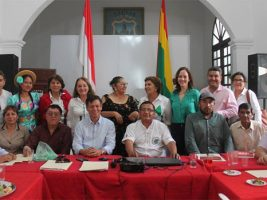 Reunión de cívicos, realizada en Tarija