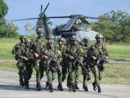 Colombia desplegó tropas en la frontera con Venezuela