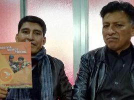 Dirigentes de Bolivia Somos Todos, disidentes del MAS