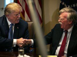 Presidente de EEUU y su Consejero de Seguridad Nacional