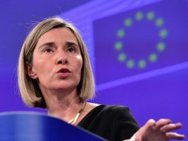 Jefa de la diplomacia europea
