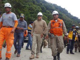 Tareas búsqueda en Caranavi tras deslizamiento