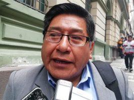 Dirigente de la Federación Departamental de Choferes 1º de Mayo de La Paz