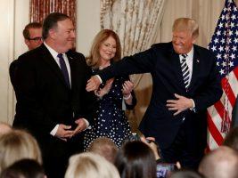 Secretario de Estado y el presidente de EEUU