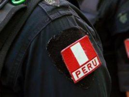 Efectivos de Policía peruana.