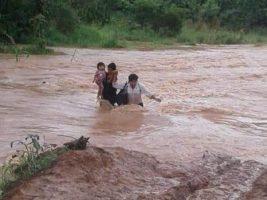 Inundación en San Borja