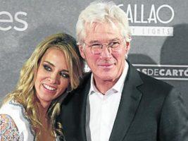 Richard Gere y Alejandra Silva iniciaron su romance en el 2014