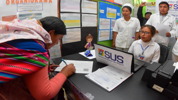 Anuncian ferias de salud desde abril para acompañar la implementación del SUS