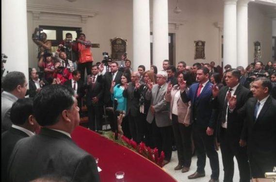Mur y Calderón comienzan a trabajar desde el lunes en Sala Constitucional de Tarija