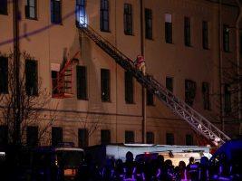Se derrumbó el techo de una universidad en San Petersburgo, Rusia