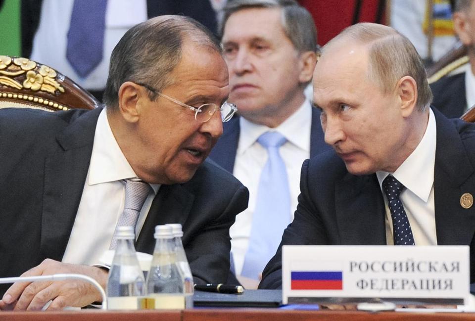El canciller de Rusia exhortó a EEUU a