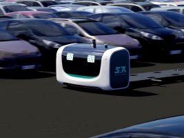 Stan, el robot Valet Parking que trabajará en el aeropuerto de Londres