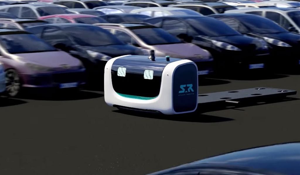 Quién es Stan, el robot Valet Parking que trabajará en el aeropuerto de Londres