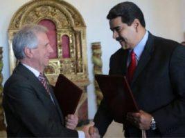 Presidentes de Uruguay y Venezuela