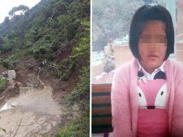Padres de niña desaparecida piden seguir búsqueda