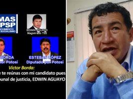 Revelan audio contra Borda de traficó de influencias en elección judicial