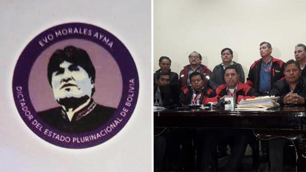 "Sindicato de Aasana pide echar al Director tras escándalo de carpetas en que se tildó de ""dictador"" a Evo"