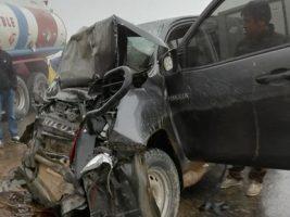 Autoridad Jurisdiccional Administrativa Minera, accidente contra camión cisterna en La Paz