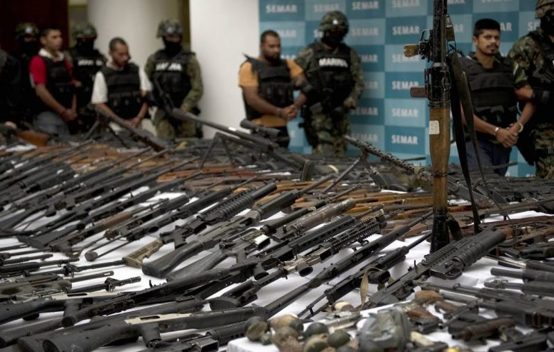 560 arrestos en una redada contra el tráfico de armas en 8 países de América Latina