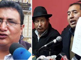 """Tras su firma con Ortiz, Barral llama """"tránsfugas"""" a Quispe y Santamaría; ellos lo descalifican"""