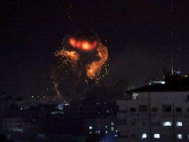 Israel atacó objetivos de Hamas en Gaza