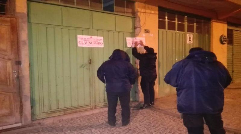 Municipio clausuró alrededor de 70 locales en Tarija que funcionaban irregularmente