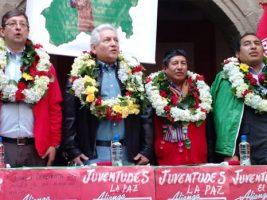 Agrupación de Rubén Costas con Óscar Ortiz a la presidencia