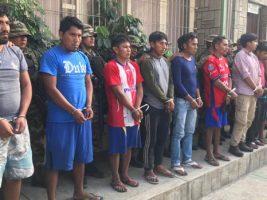 Chapare: Capturan 10 emboscadores y destruyen 13 fábricas de droga
