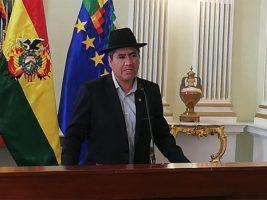 Canciller de Bolivia