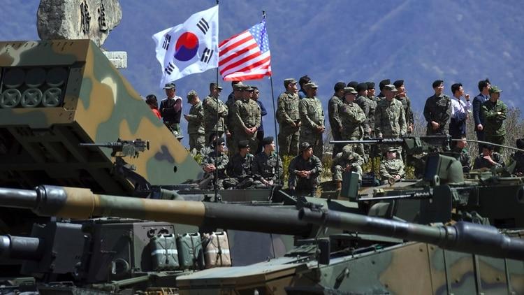 Estados Unidos y Corea del Sur cancelaron sus ejercicios militares de gran escala