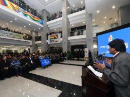 """Gobierno invertirá $us 200 millones en segunda fase de """"Mi barrio, mi hogar"""