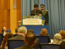 Comisión de Estupefacientes de la Organización de Naciones Unidas (ONU), que se realiza en Viena, Austria,