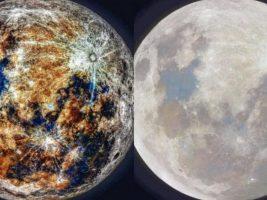 El astrofotógrafo compartió esta imagen en su cuenta de Instagram: cosmic_background