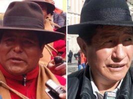 Dirigente de los Ponchos Rojos y diputado opositor