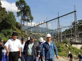 Inspección Evo platas hidroeléctricas