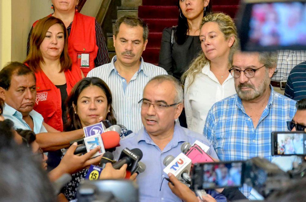Gobernación de Tarija presenta propuesta de complementación del SUS al SUSAT ante el Gobierno